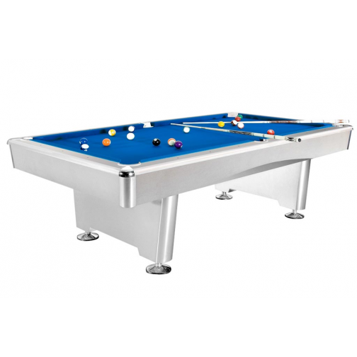 Бильярдный стол для пула Dynamic Triumph 7 ф матово-белый-7147610