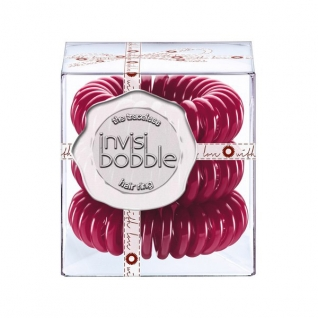 Invisibobble Резинка-браслет для волос Winter Punch 3 шт., цвет: cherry