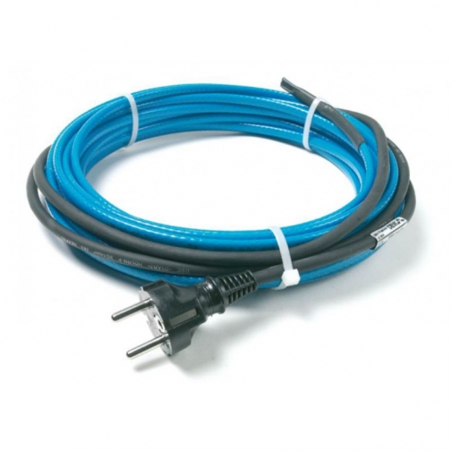 Нагревательный саморегулирующийся кабель Devi DPH-10 с вилкой 6 м, 60 Вт-6679543