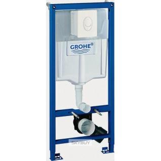 Система инсталляции для унитазов Grohe Rapid SL 38722001 4 в 1 с кнопкой смыва-37950006
