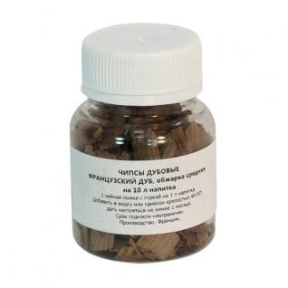 Дубовые чипсы средней обжарки набор 10 штук-37655210