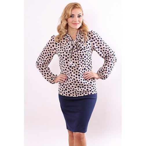 Блуза с длинным рукавом 48 размер-6686997
