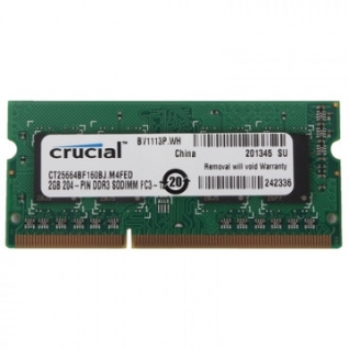 Модуль памяти Crucial DDR3L 2Gb 1600MHz (CT25664BF160BJ)