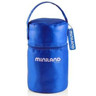 Термосумка Miniland Термосумка с 2 мерными стаканчиками синяя