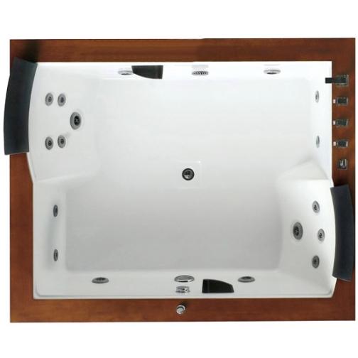 Акриловая ванна Gemy с гидромассажем (G9052-II B) 6817533 8