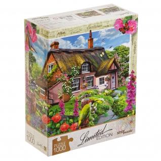 Пазл Limited Edition - Розовый коттедж, 1000 элементов Step Puzzle-37724249