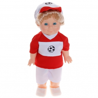 "Кукла ""Профи"" - Футболист Митя (звук), 34 см Весна-37729623"