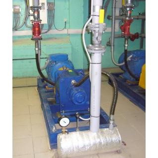 Системы отопления для птицеферм, насос - теплогенератор НТГ-055-465059