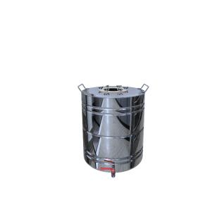 Перегонный куб с ребрами жесткости 40 литров + кран-37657794
