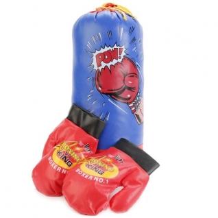 Набор Для Бокса (Груша + Перчатки) В Сетке