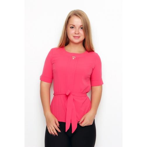 Блуза с коротким рукавом 42 размер-6683377