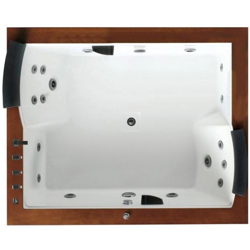 Акриловая ванна Gemy с гидромассажем (G9052-II B) 6817533 9