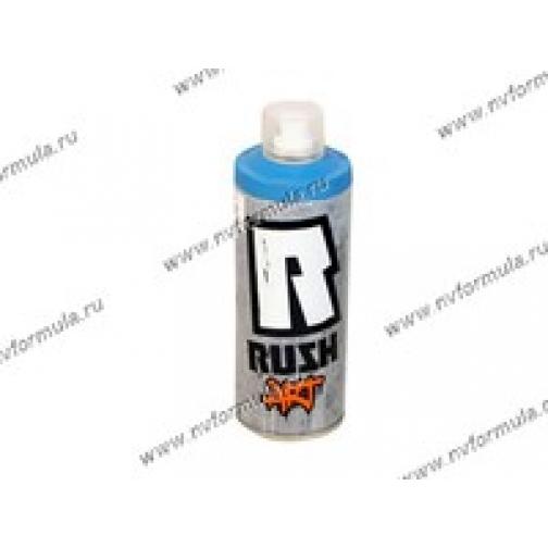 Краска для граффити голубая RUSH ART 520мл аэрозольная-418670