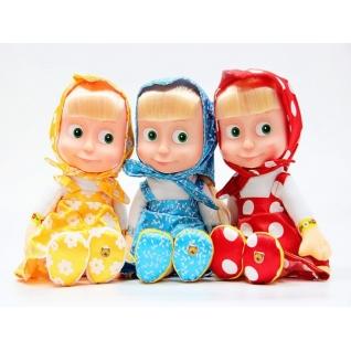 "Мягкая кукла ""Маша и Медведь"" - Маша (звук) Мульти-Пульти-37736716"