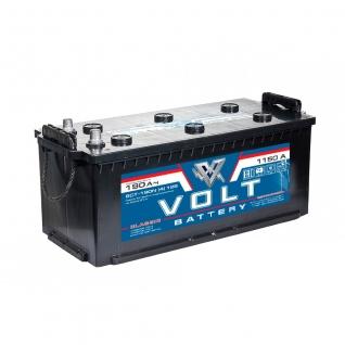 Аккумулятор грузовой VOLT Classic 6CT- 190.4 190 Ач (A/h) прямая полярность - VC 19011 VOLT VC6CT-190 N-6017358