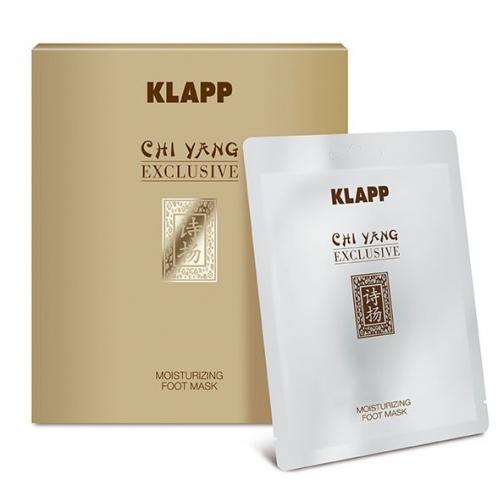 Klapp Moisturizing Foot Mask (Chi Yang) - Флисовая маска для ног-4942207