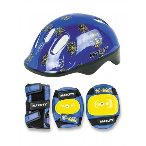 Набор защиты для детей MaxCity Little Rabbit (синий)-5999551