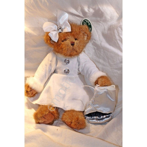 Мягкая игрушка мишка с коньками-873772