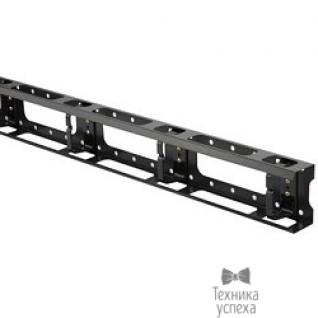 Hyperline Hyperline CMV-42U-ML Металлический вертикальный кабельный организатор с крышкой 42U, для шкафов TTC, TSC шириной 800 мм, черный (RAL 9004) ( 1 шт)-6868041