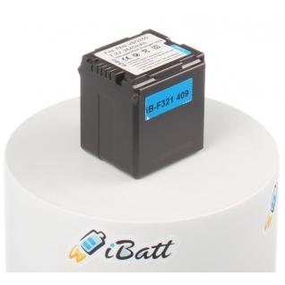 Аккумуляторная батарея iBatt для фотокамеры Panasonic HDC-SD100. Артикул iB-F321