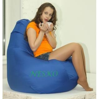 Кресло-мешок средний синий-1174404