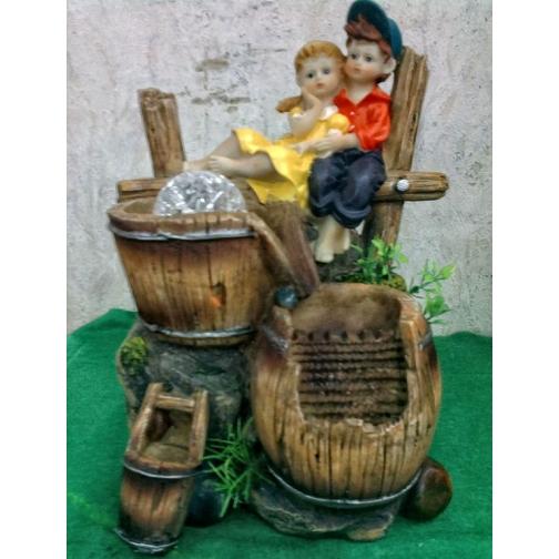 Декоративный фонтан | Настольный для дома | Влюбленная пара-5255127