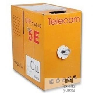 Telecom Telecom Кабель UTP кат. 5e 4 пары (305м) (0.48mm) CCA серый UTP4-TC305C5EN-CCA-IS