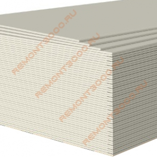 КНАУФ ГКЛ гипсокартон 2500х1200х12,5мм (3,0м2) / KNAUF ГКЛ гипсокартонный лист 2500х1200х12,5мм (3,0 кв.м.) Кнауф-37458795