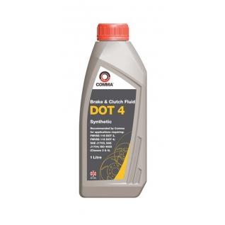 Тормозная жидкость COMMA DOT 4 BRAKE FLUID 1л-5920368