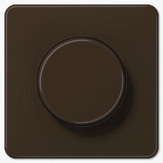 Крышка Jung CD1540BR роторных диммеров (спутников, потенциометров) коричневая пластик-38097904