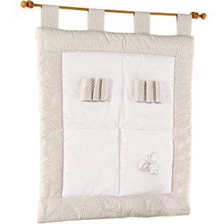 Карман Italbaby Настенный карман Ninna Nanna бело-серый