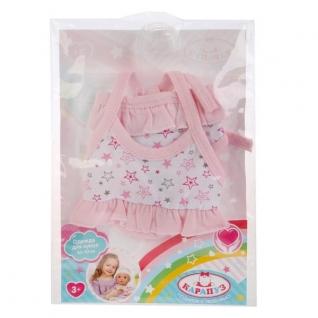Одежда для кукол 'Карапуз' 40-42см, купальник 'звезды' в пак. в кор.100шт-37797042