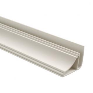 Галтель профиль потолочный для монтажа панелей ПВХ (3м) / Галтель плинтус потолочный для монтажа панелей ПВХ (3м)-6859378