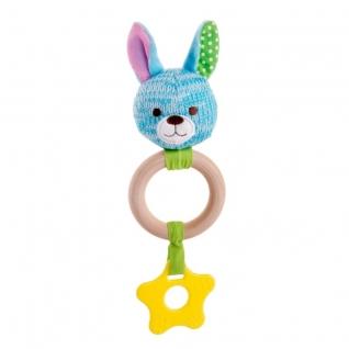 Игрушка-погремушка Зайчик Эко Happy Snail-37896076