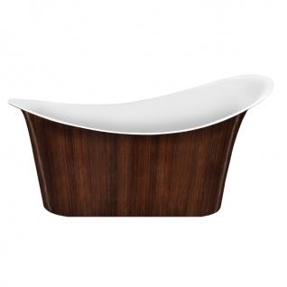 Отдельно стоящая ванна LAGARD Tiffany Brown wood-6944634