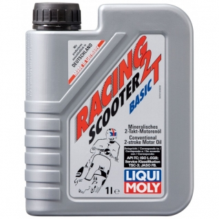 Моторное масло LIQUI MOLY Racing Scooter 2T Basic 1л.