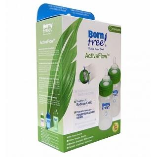 Бутылочка BornFree Комплект из 2-х бутылочек BornFree® из полипропилена (PP) (160 мл)