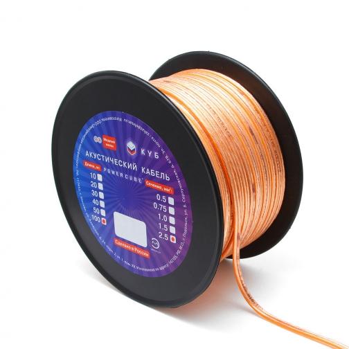 Акустический кабель Power Cube 2*1,0 Hi-Fi 100 M-6439836