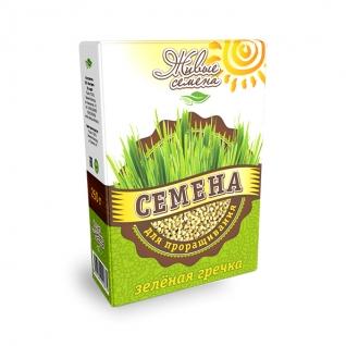 Зеленая гречка для проращивания, 250 г, коробка-822531