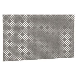 Декоративный экран Квартэк Рондо 600*1200 (металлик)