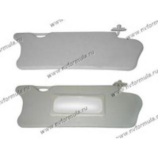 Козырьки солнцезащитные 2110 с зеркалом-420258