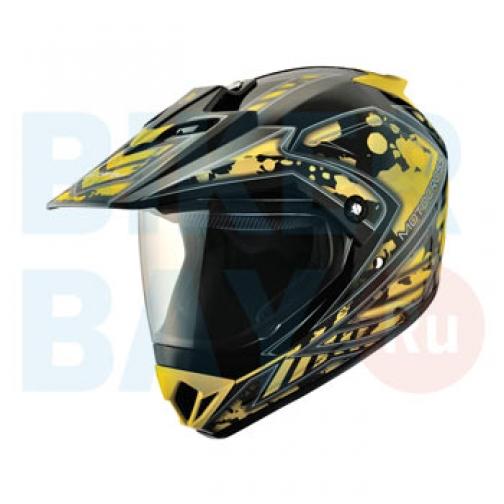 Шлем (кросс) MC 145 Splash Yellow (Размер XS) MICHIRU-2156383