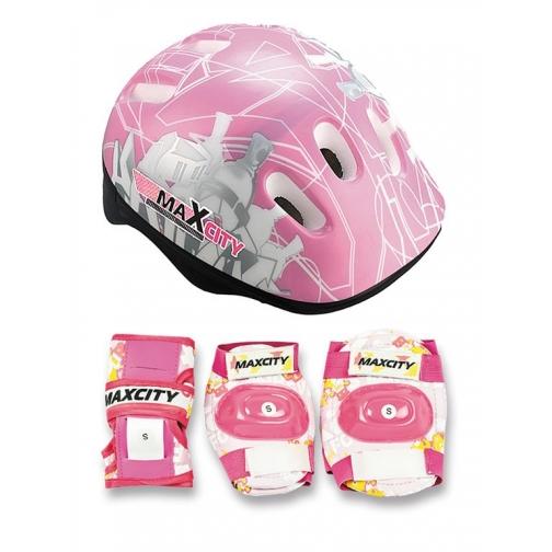 Набор защиты для детей MaxCity Baby City (розовый)-5999496