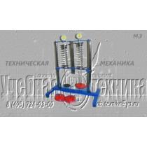 Установка «Испытание витых цилиндрических пружин сжатия» М3