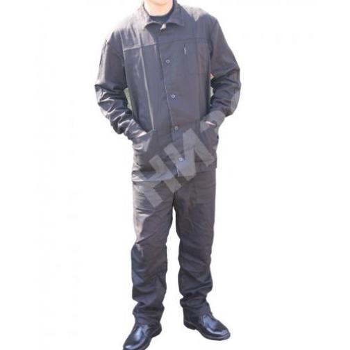 Костюм рабочий Труд черного цвета-9424