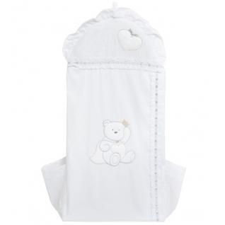Мешок Italbaby Мешок для подгузников Principini белый-2035871