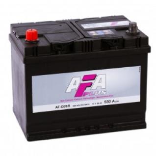 Автомобильный аккумулятор AFA AFA ASIA 68RL 550А прямая полярность 68 А/ч (261x175x220)-5789015