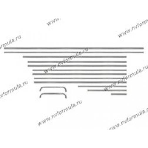 Молдинги кузова 2103,06 хром-432339