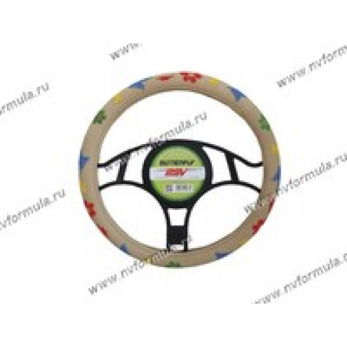 Оплетка на руль PSV BUTTERFLY бежевая М-432567