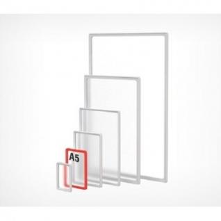 Рамка пластиковая А5, прозрачный, 10шт/уп